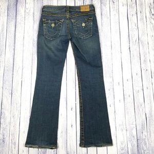 True Religion Becky Big T Boot Cut Jeans